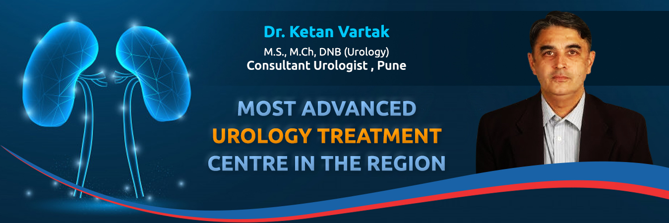 Best urologist in Pune,India - Dr. Ketan Vartak